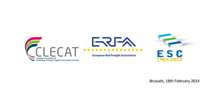 Before the vote on 26th February in plenary session, ESC, CLECAT and ERFA developed a joint position and asked MEP Franco Frigo and all MEPs to reject CER amendments endangering the non-discriminatory opening of the railway market