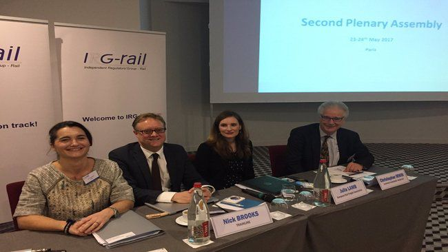 ERFA presents at the annual meeting of European rail regulators - The needs of rail customers